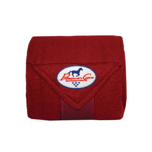 Professional's Choice Polo Wrap - Crimson
