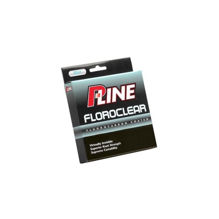 P-Line Floroclear Clear Fluorocarbon Fishing Line - Huls Outdoors