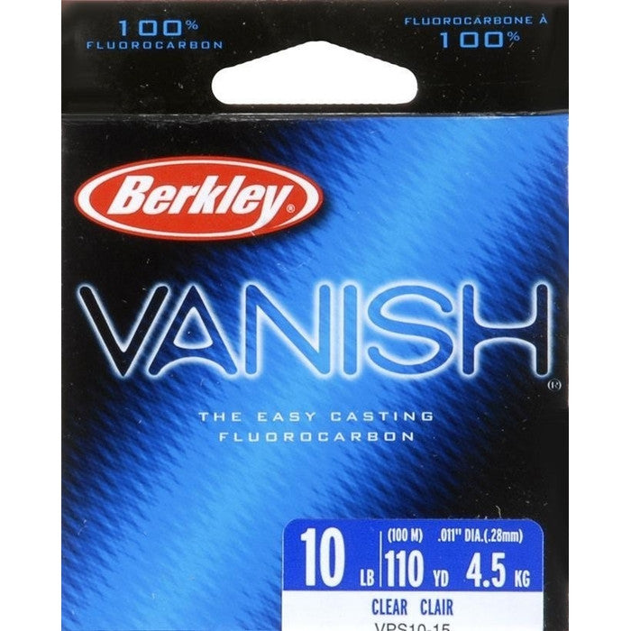 Berkley Vanish Clear Fluorocarbon Fishing Line - Huls Outdoors