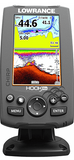 Lowrance Hook-4X Fishfinder with Mid/High Transducer - Huls Outdoors