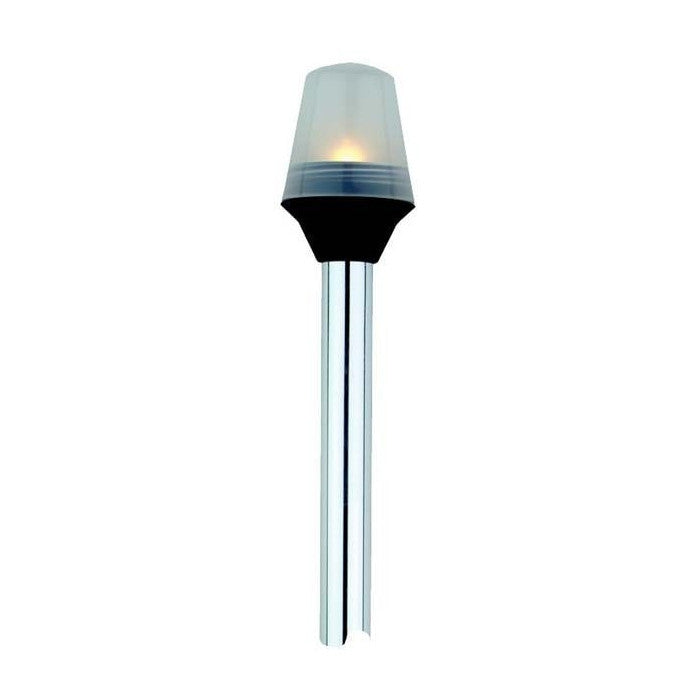 "Attwood Frosted Globe All-Round Pole Light - 48"" - Huls Outdoors"