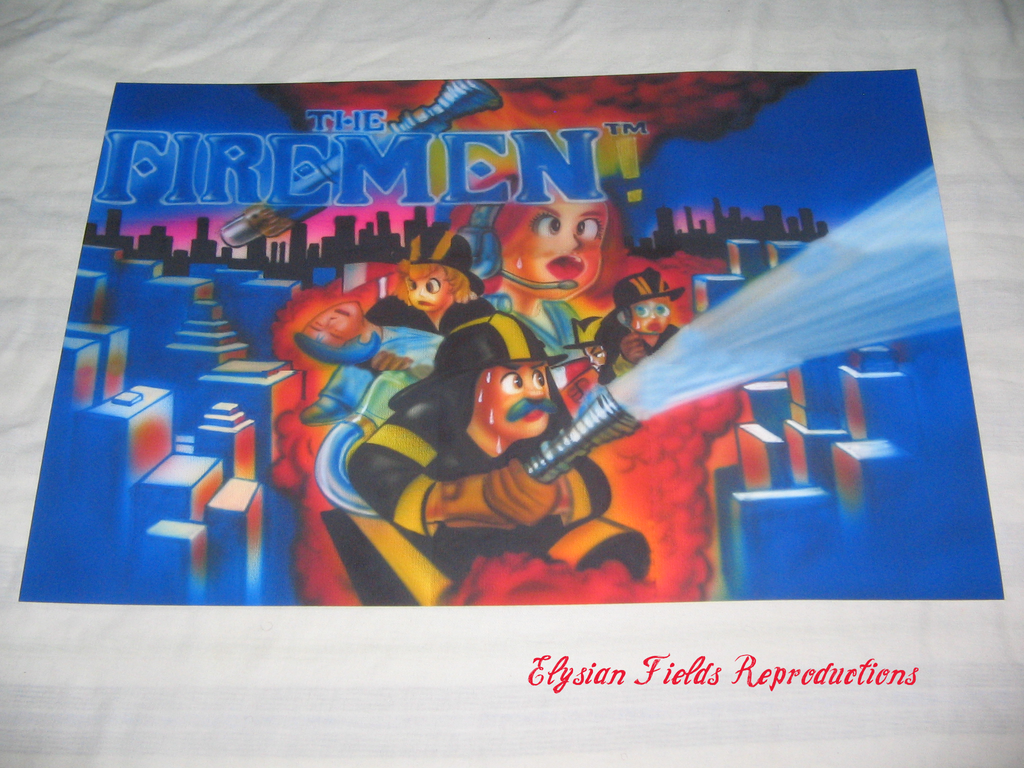 The Firemen poster only