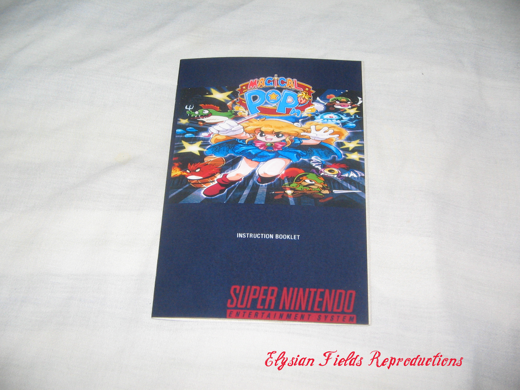 Magical Pop'n English translated manual only