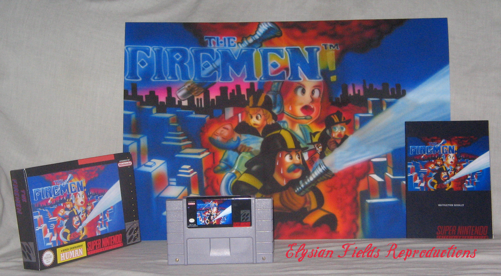 The Firemen English Reproduction Complete CIB Sealed