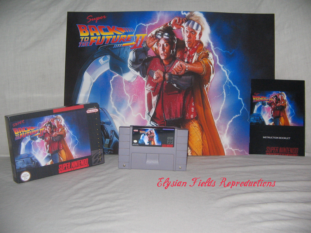 Super Back to the Future II English Reproduction Complete CIB Sealed