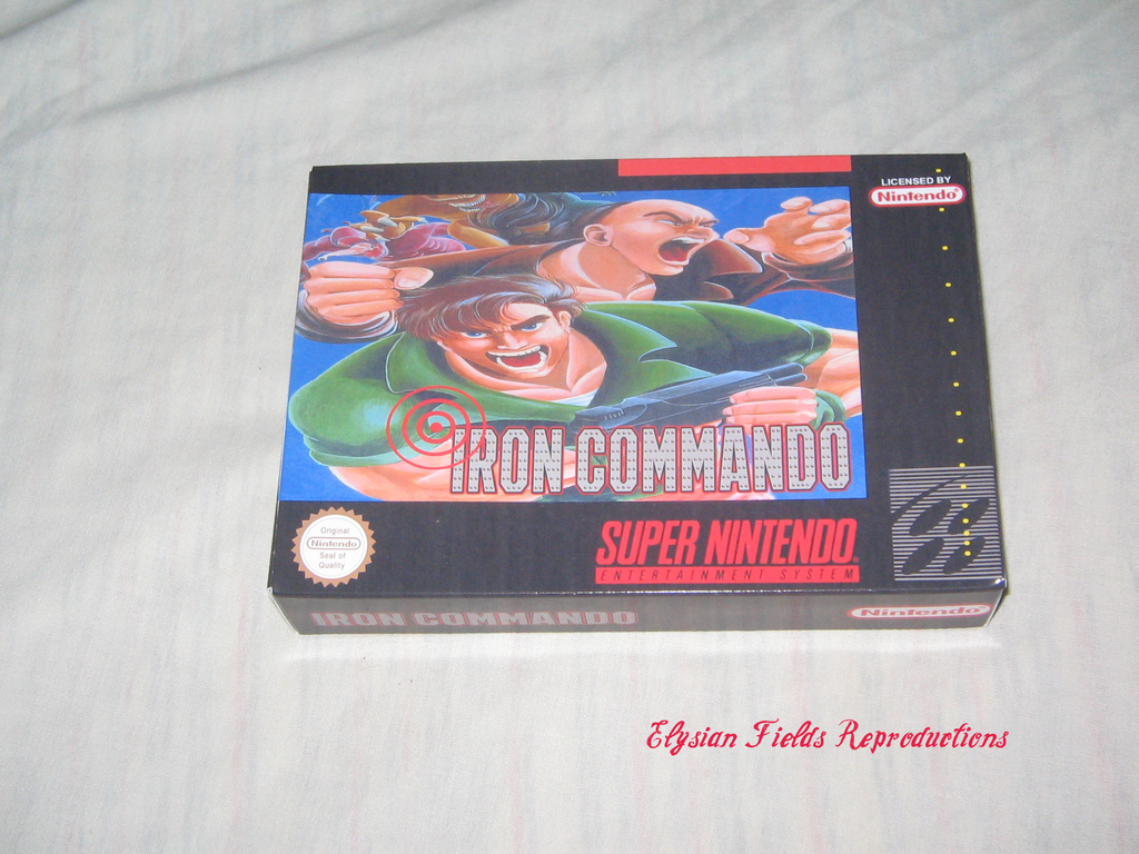 Iron Commando box only