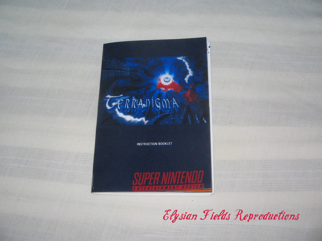 Terranigma manual English translated only
