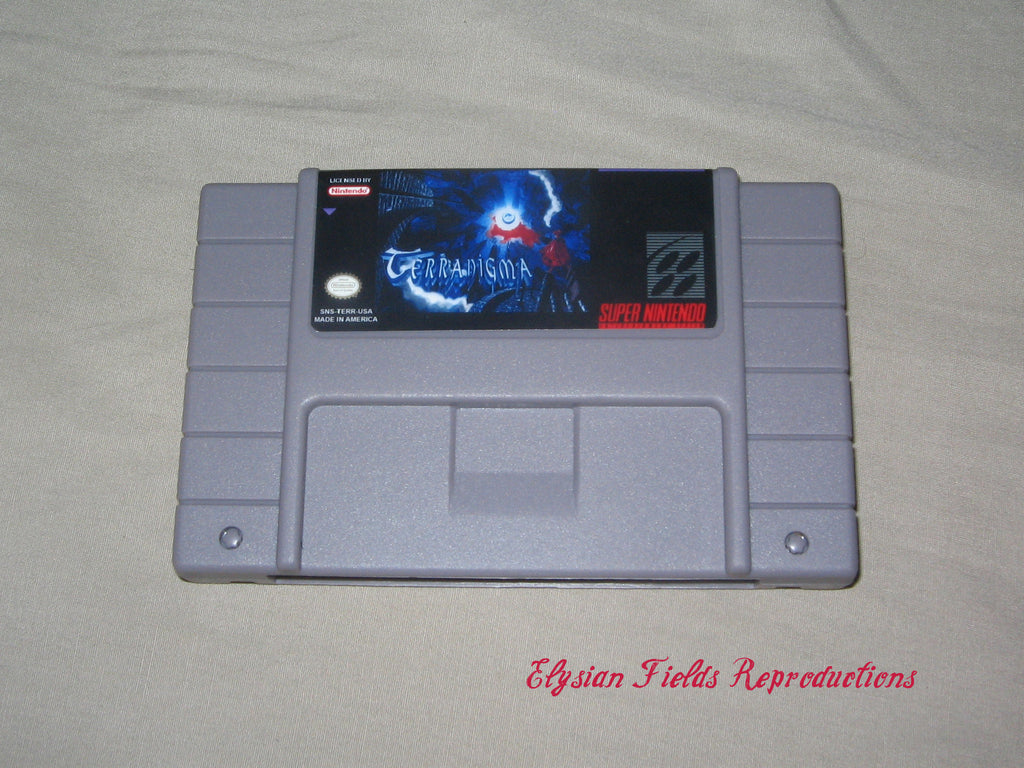 Terranigma cart only