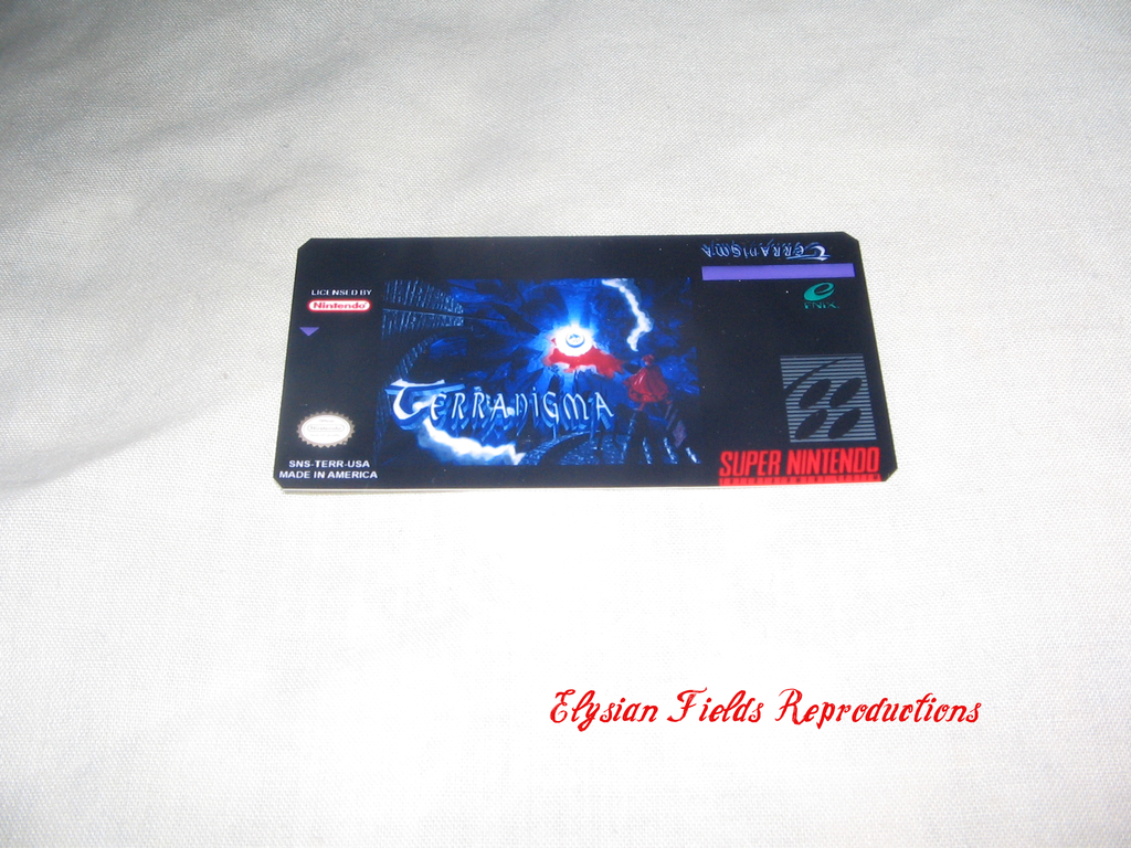 Terranigma label only