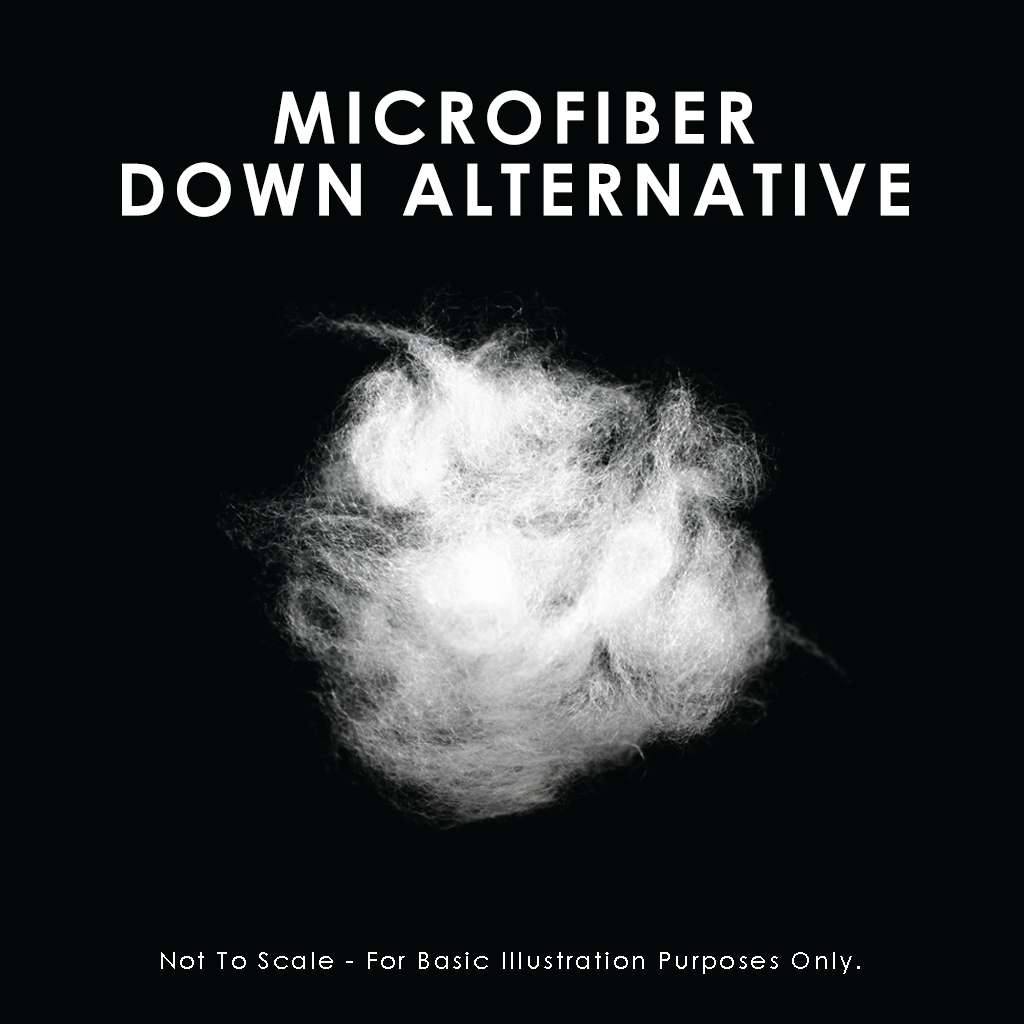 Microfiber Down-Alternative Sleeping Pillow