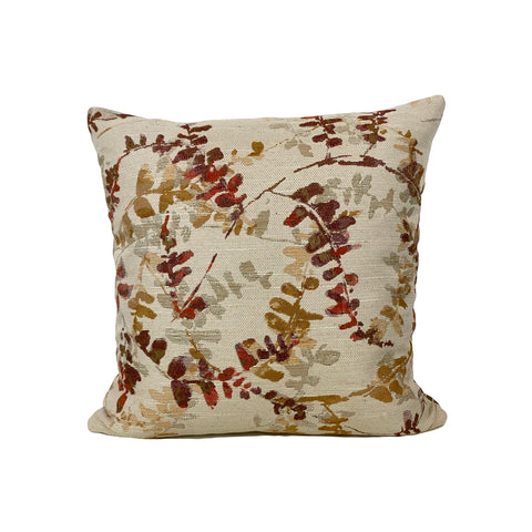 Acadia Orchid Throw Pillow 17x17""