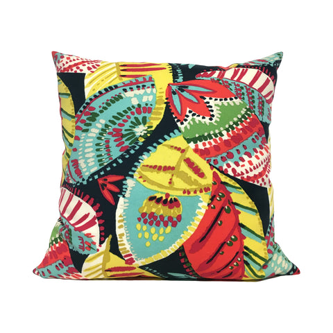 Amazon Leaves Outdoor Throw Pillow 20x20""