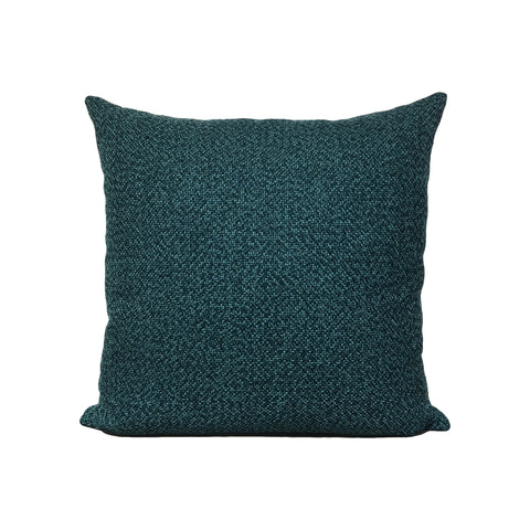 Amour Turquoise Throw Pillow 17x17