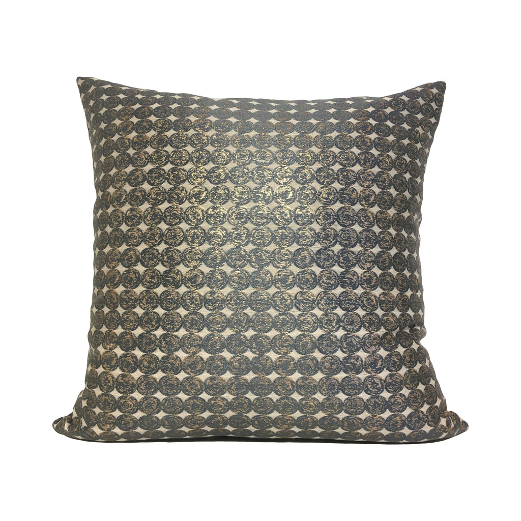 Angers Metallic Throw Pillow 20x20""