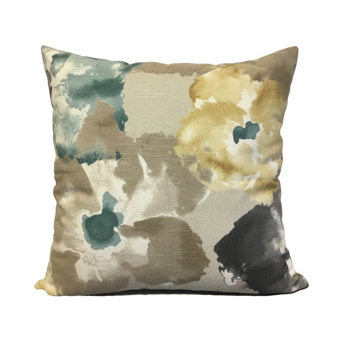 Aptura Floral Dew Throw Pillow 20x20""
