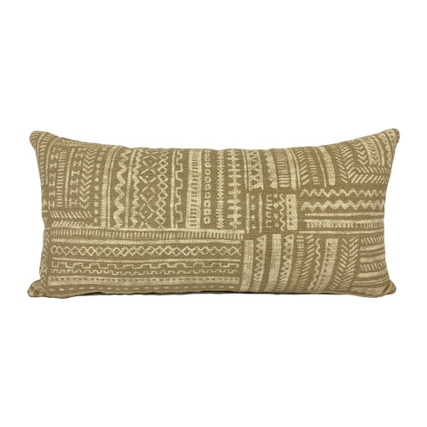 Avron Basketweave Lumbar Pillow 12x22