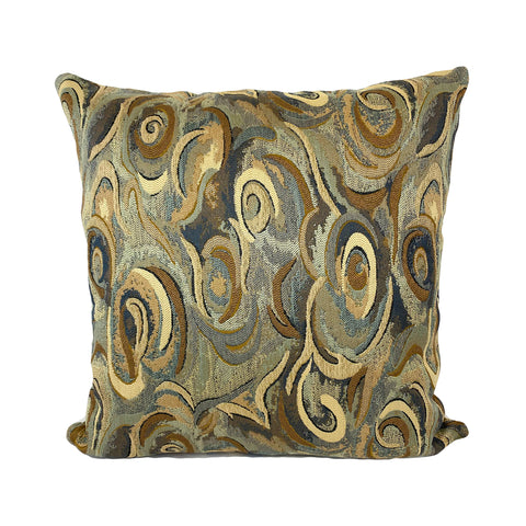 Baffin Cove Abstract Throw Pillow 20x20""