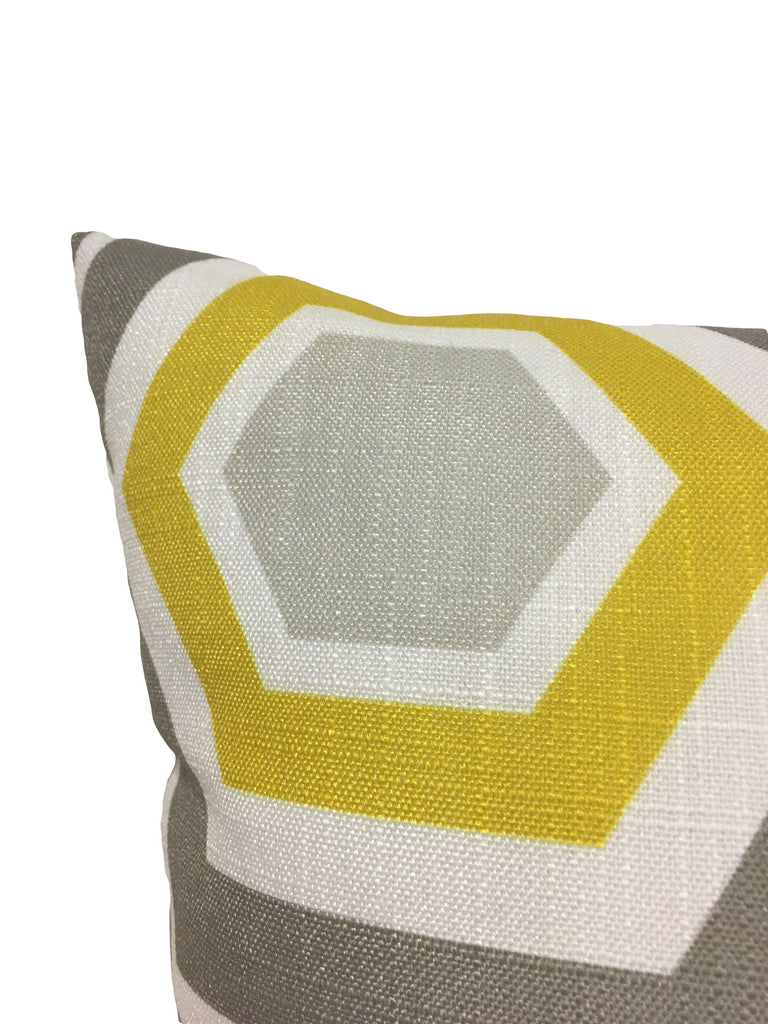 Beeswax Sunny Throw Pillow 17x17""