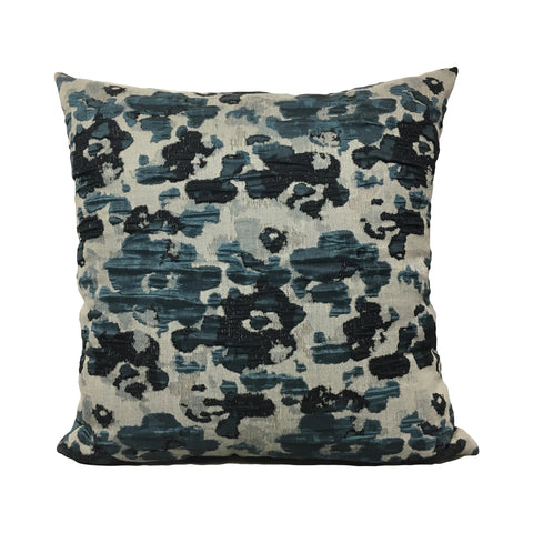 Blue Puddle Throw Pillow 20x20""