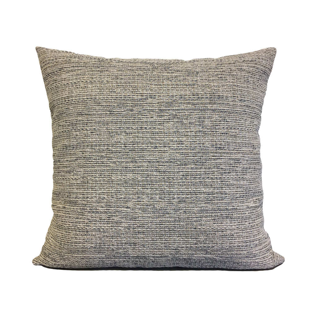 Boulder Navy Throw Pillow 20x20""