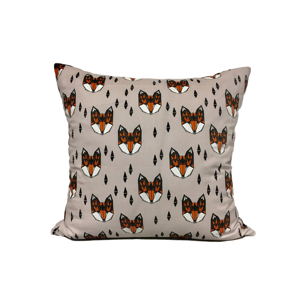 Brava Fox Throw Pillow 17x17""