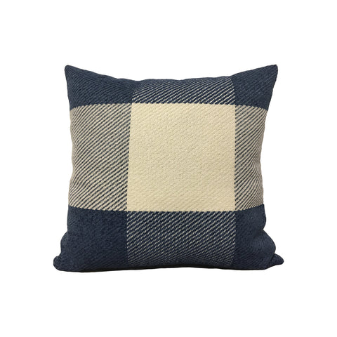 Buffalo Blue Throw Pillow 17x17""