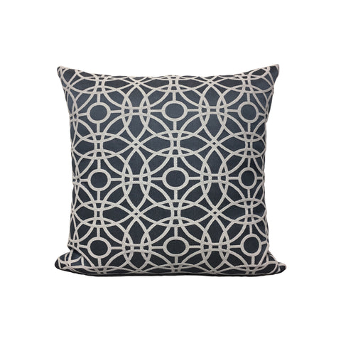 Cathedral Denim Throw Pillow 17x17""