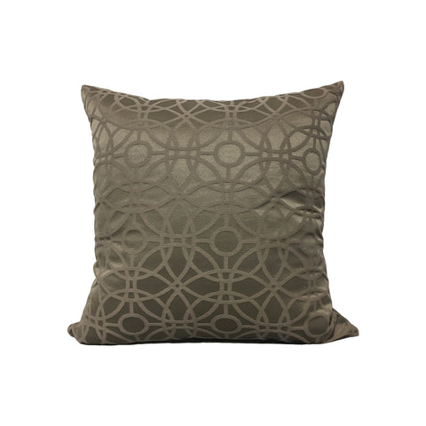 Cathedral Mink Throw Pillow 17x17""