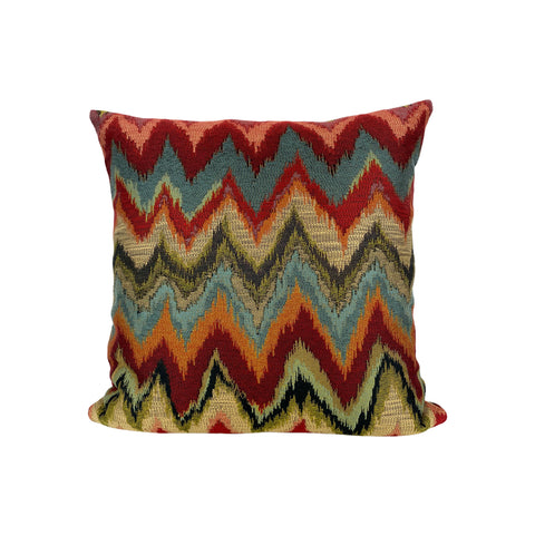 Chania Canyon Throw Pillow 17x17""