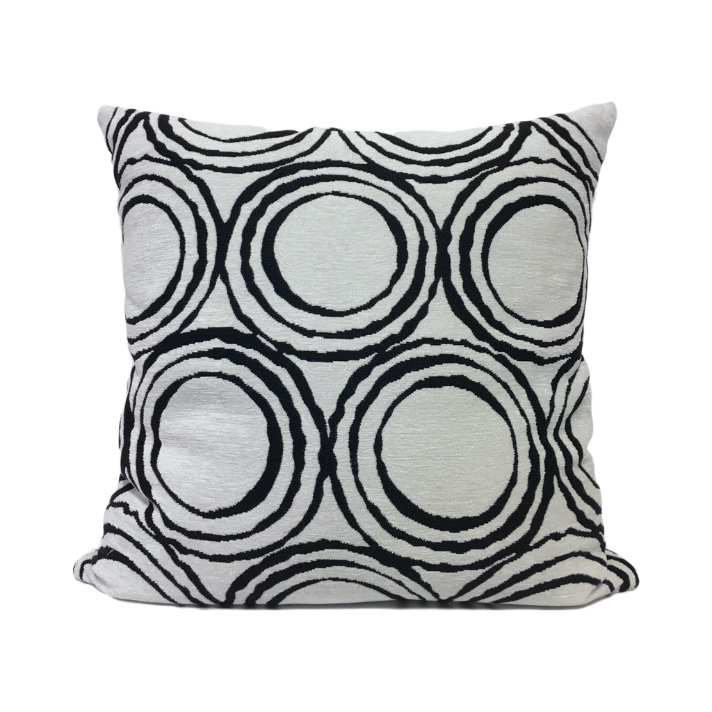 Cirque Domino Geometric Throw Pillow 20x20""