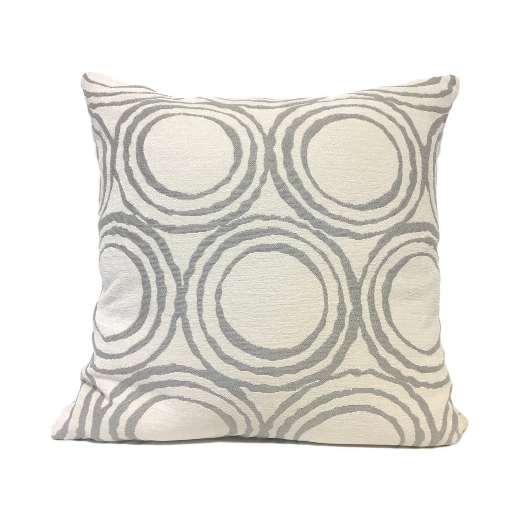 Cirque Dove Geometric Throw Pillow 20x20""