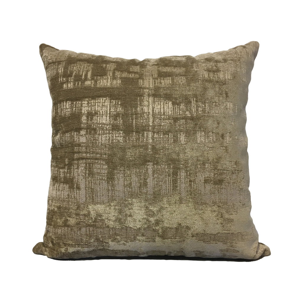 Cohiba Burlap Throw Pillow 20x20""
