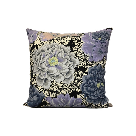 Collective Floral Throw Pillow 17x17""