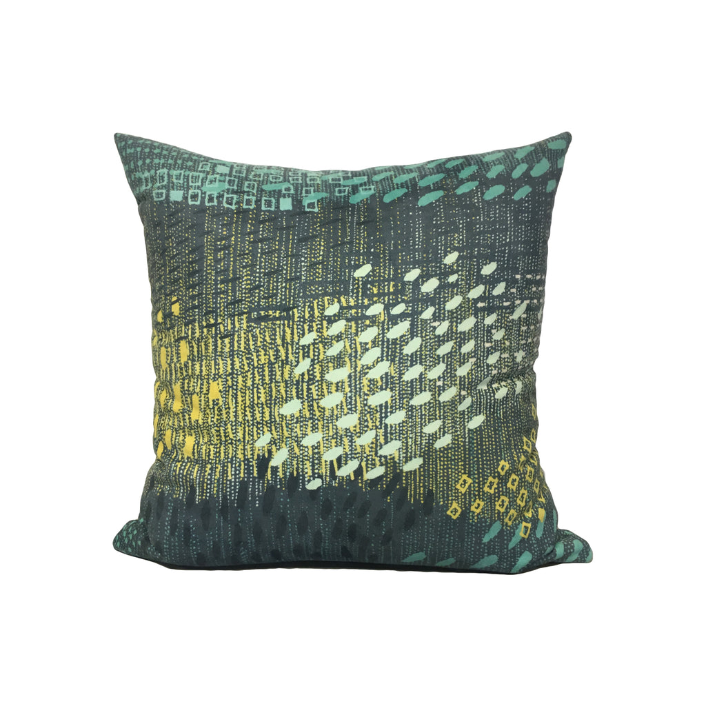 Cosmic Particles Throw Pillow 17x17""