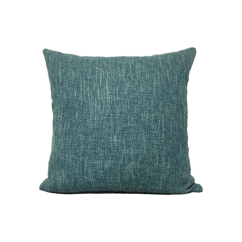 Duel Turquoise Throw Pillow 17x17""