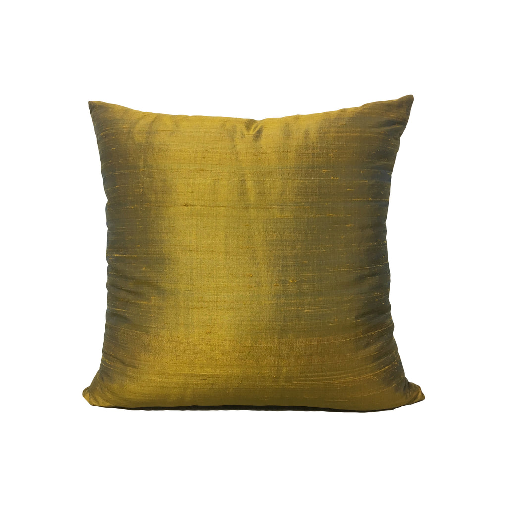 Dupioni Silk Cairo Throw Pillow 17x17""