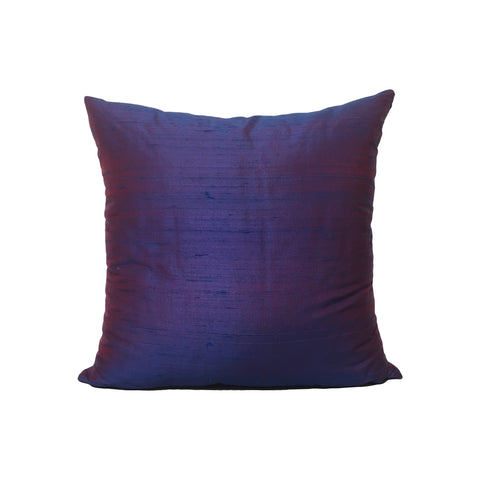 Dupioni Silk Celestial Blue Throw Pillow 17x17""