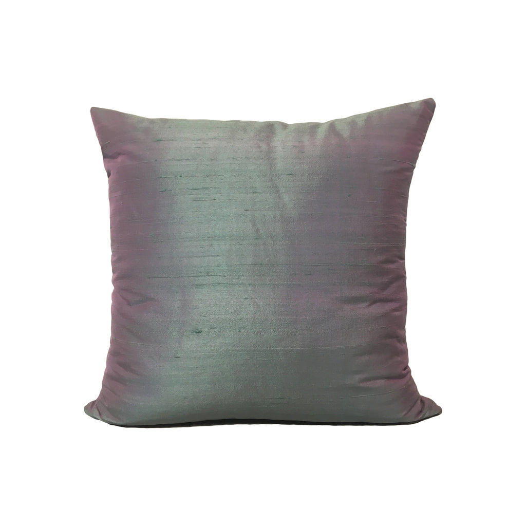 Dupioni Silk Cloud Cover Throw Pillow 17x17""