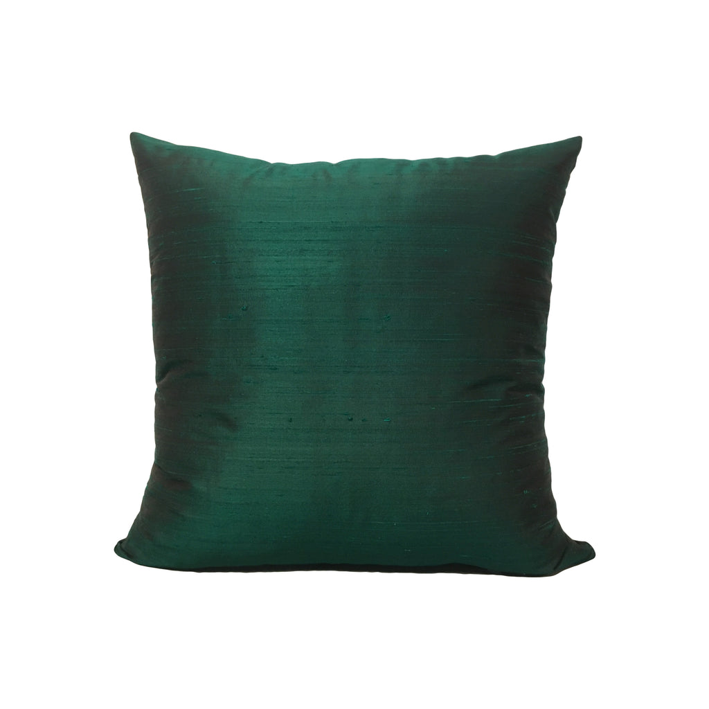 Dupioni Silk Dublin Throw Pillow 17x17""