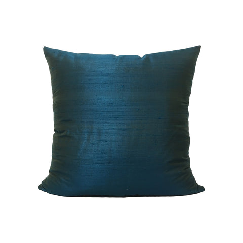 Dupioni Silk London Throw Pillow 17x17""
