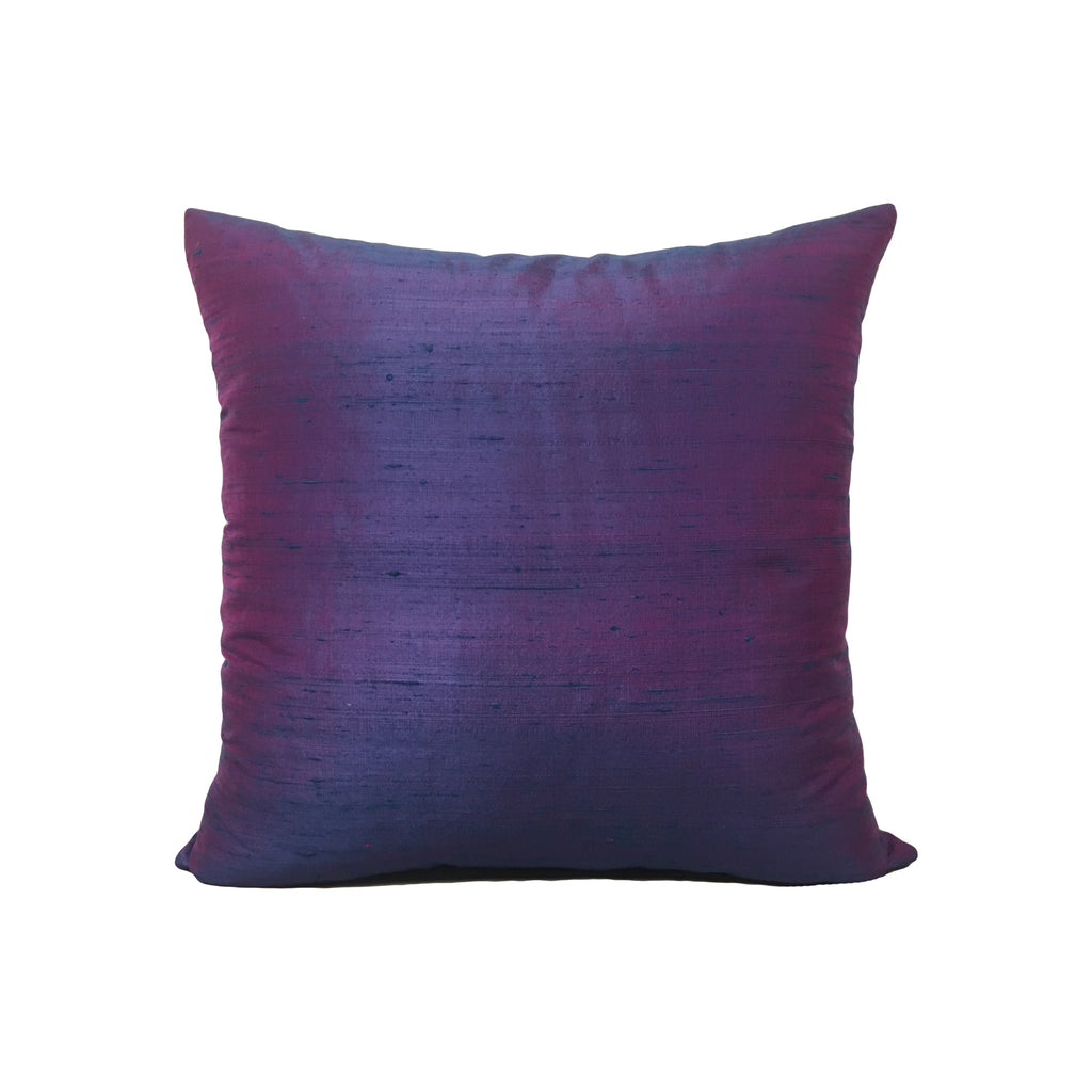 Dupioni Silk Pandora Throw Pillow 17x17""