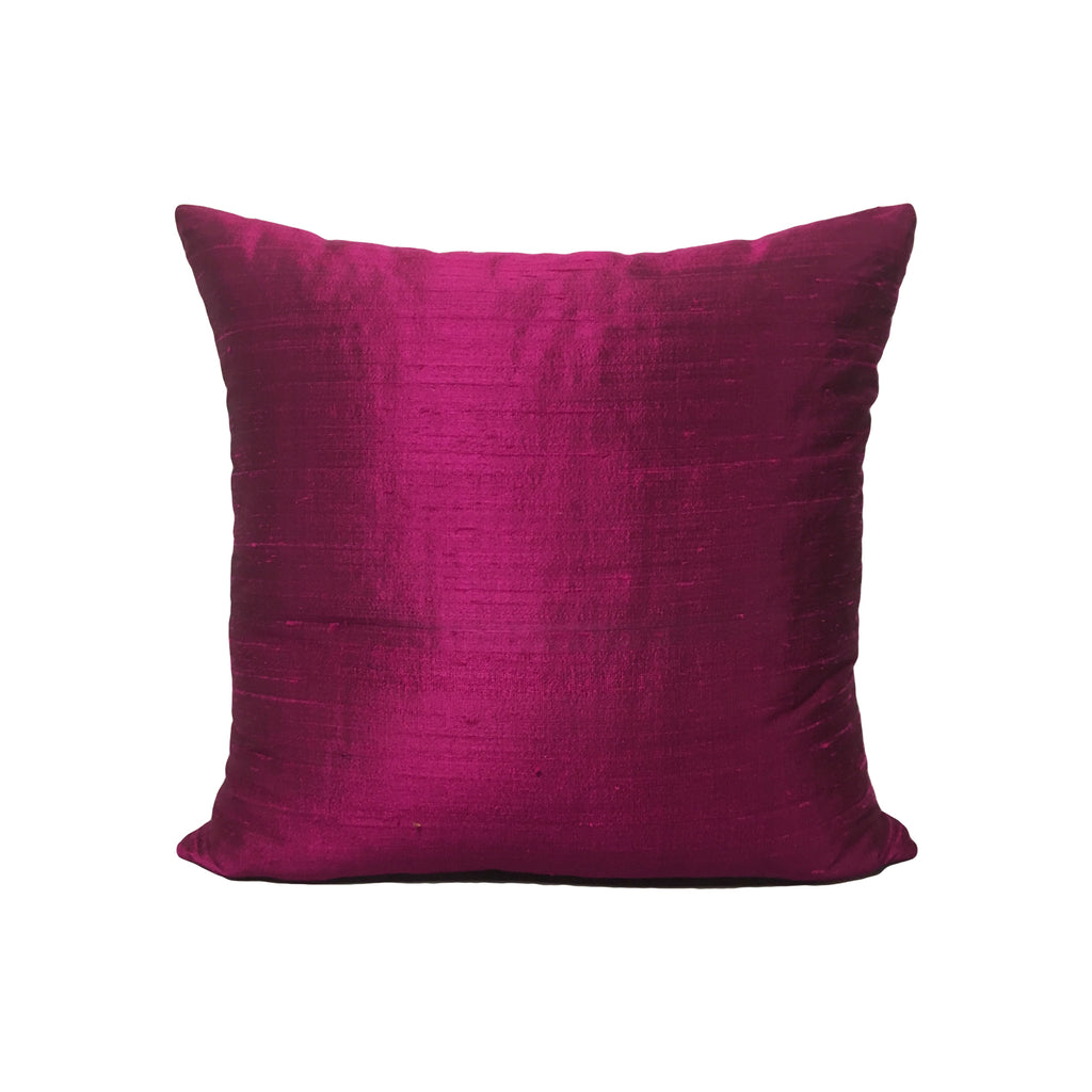 Dupioni Silk Penny Candy Throw Pillow 17x17""