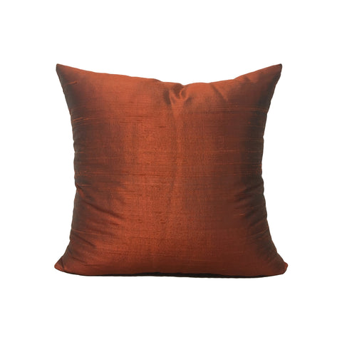 Dupioni Silk Tajine Throw Pillow 17x17""