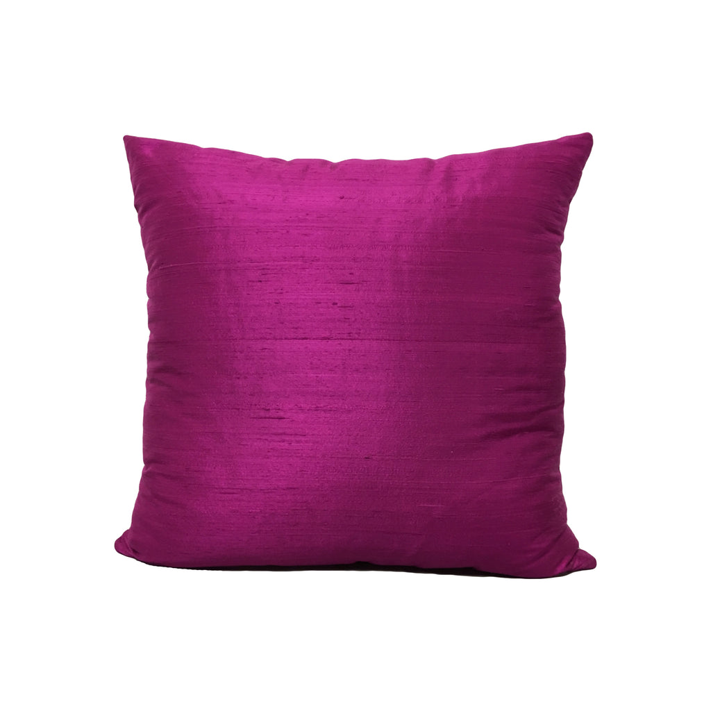 Dupioni Silk Voodoo Throw Pillow 17x17""