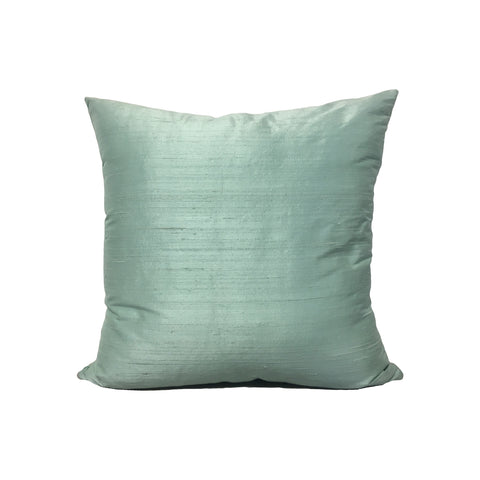 Dupioni Silk Wisp Throw Pillow 17x17""