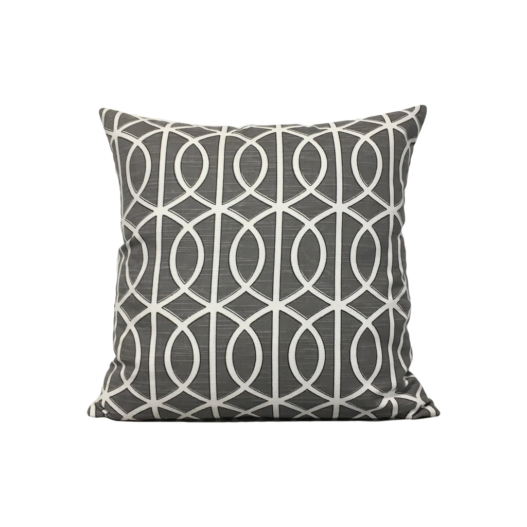 Elias Winding Throw Pillow 17x17""