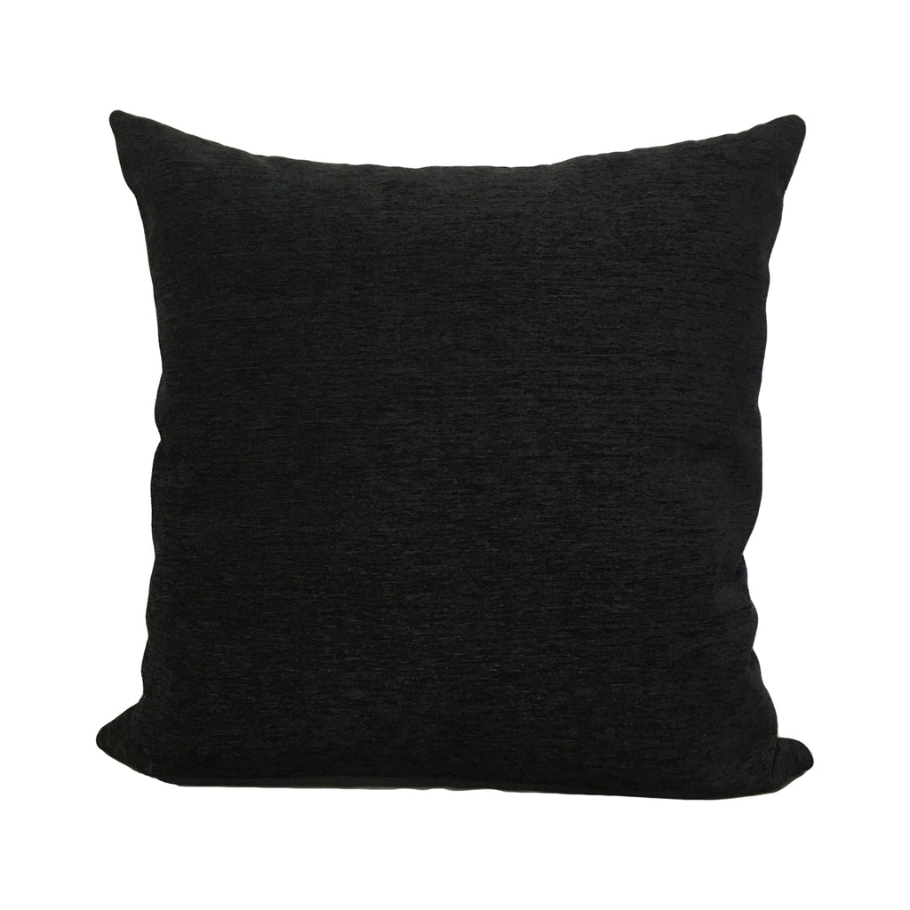 Elizabeth Ebony Throw Pillow 20x20""