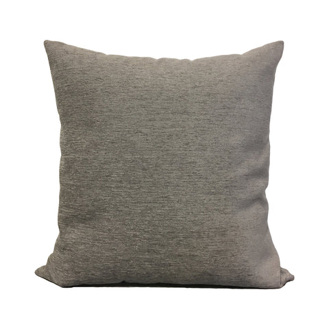 Elizabeth Platinum Throw Pillow 20x20""