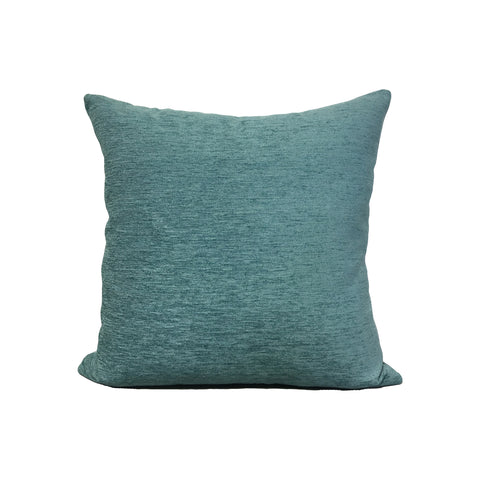 Elizabeth Turquoise Throw Pillow 17x17""