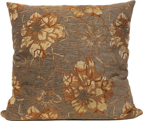 Frolic Sienna Floral Euro Pillow 25x25""